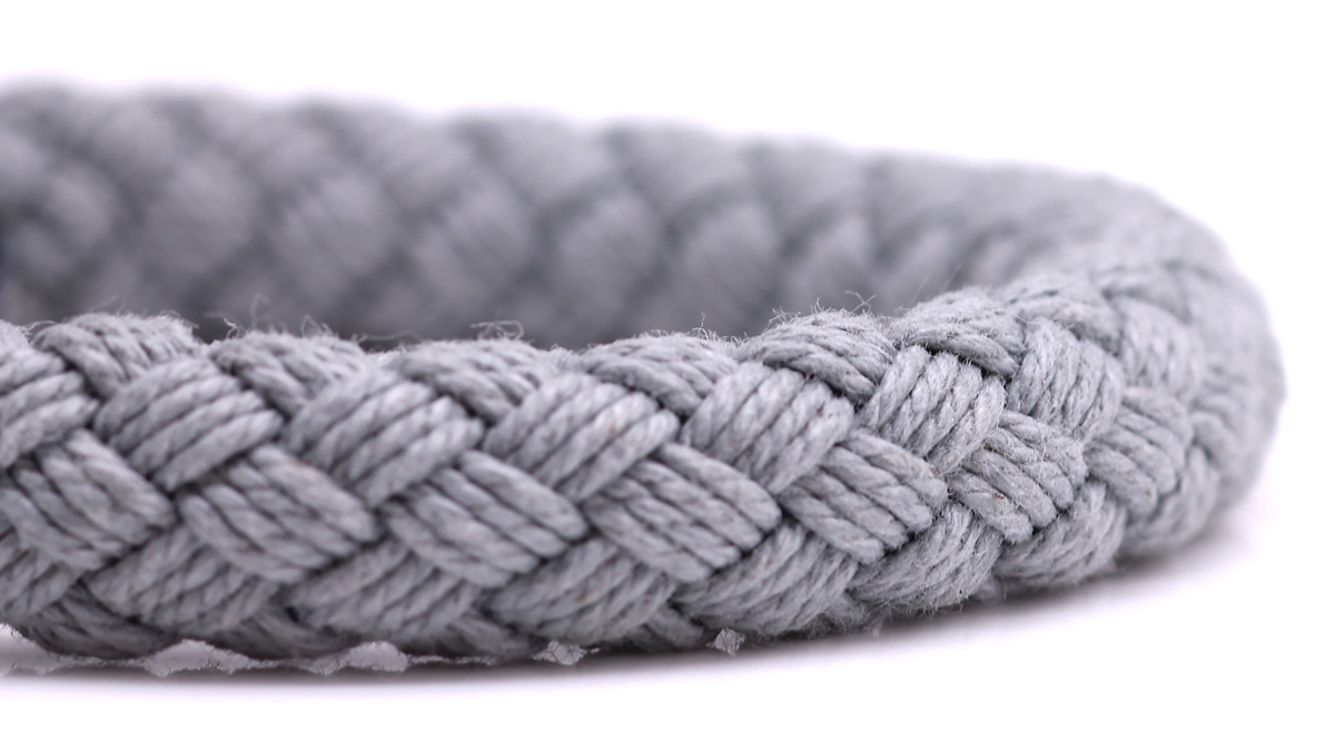 Nautical S6 Grey Rope bracelet Product image rope