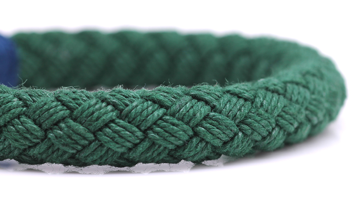 Nautical S4 Green Rope bracelet Product image rope