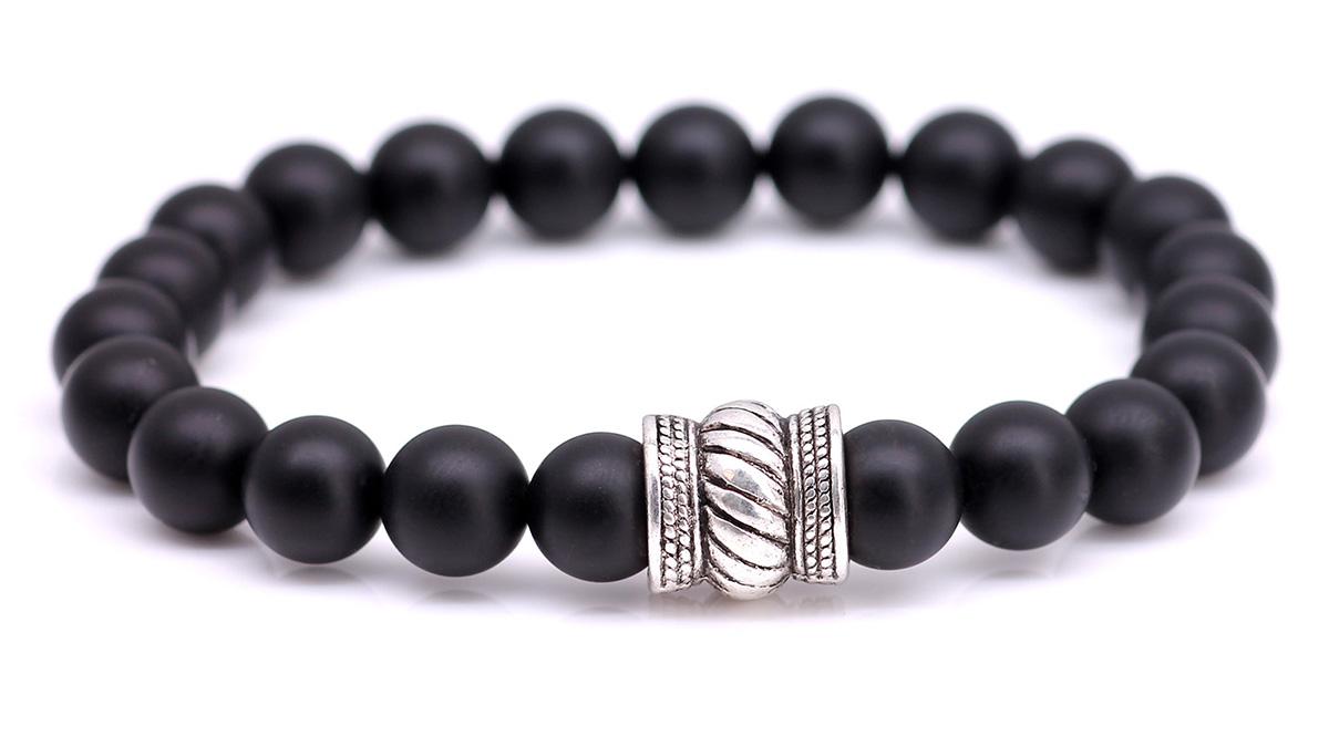 Bali Black Onyx bracelet front image