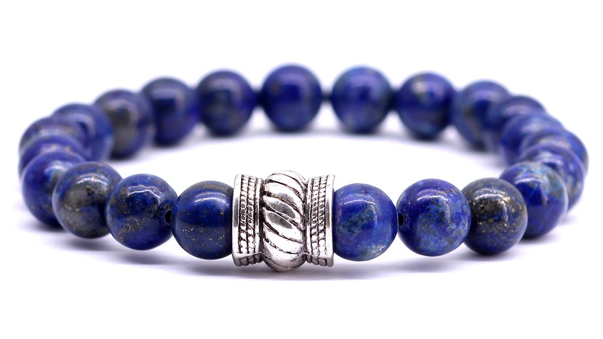 Bali Lapis Lazuli bracelet front image