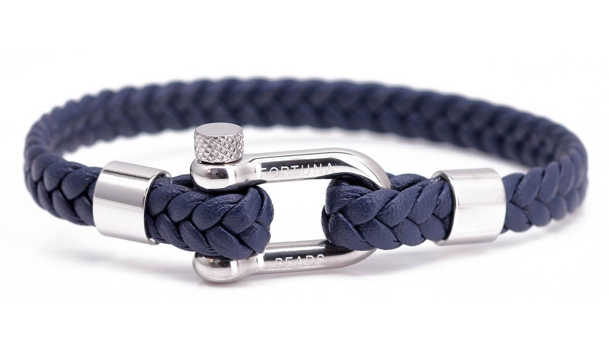 Nautical L5 Black bracelet Product image front